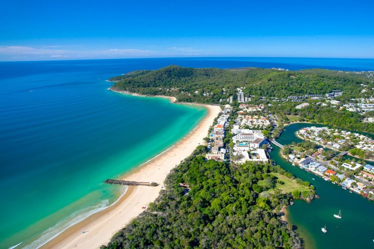 Noosa Aerial View