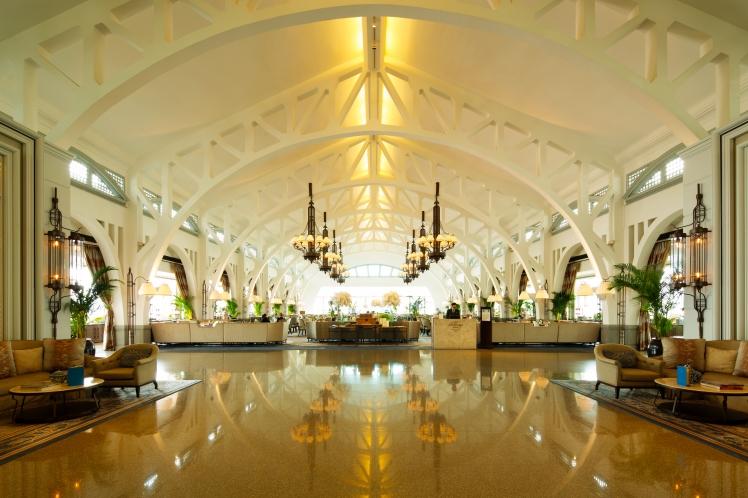 Fullerton Hotel Foyer by Darren Soh