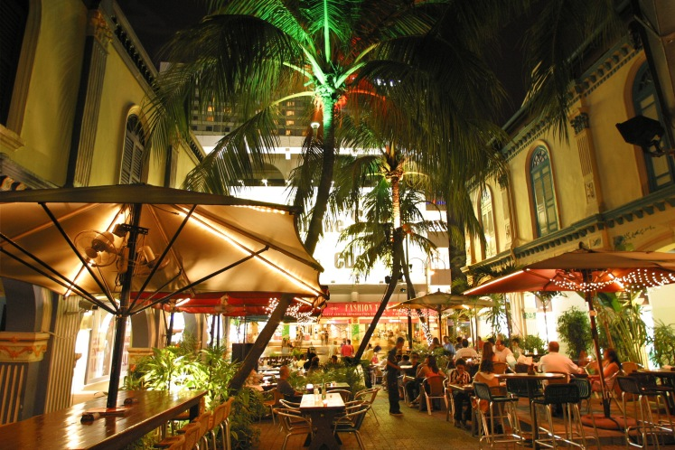 Orchard Road - Al Fresco Dining