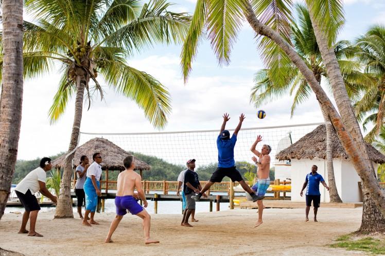Tropica Island Resort. Beach Volleyball