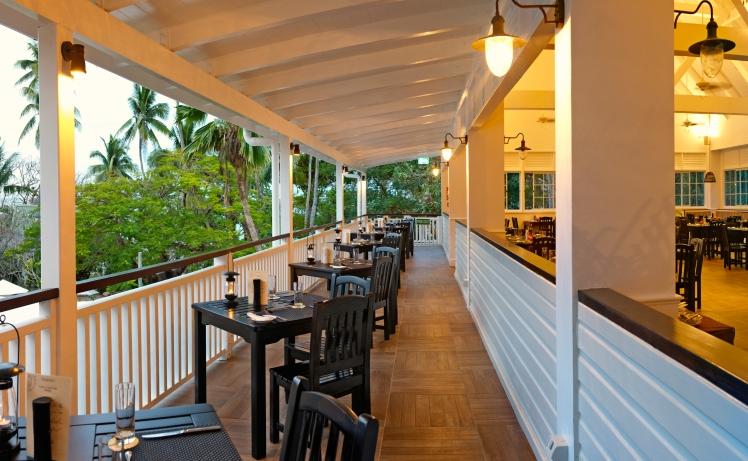 Terrace Restaurant dining verandah