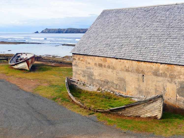 The island's rich history is spread out everywhere.