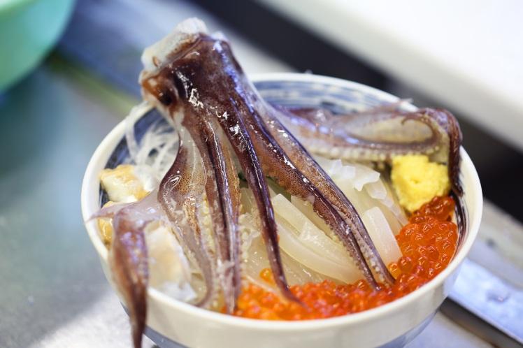 Hakodate seafood