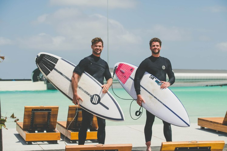 URBNSURF - Chris and Liam Hemsworth 1